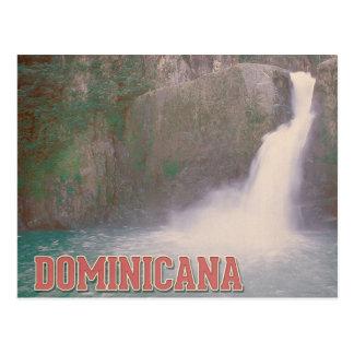 Cartão Postal Jarabacoa cai Dominicana
