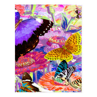 Cartão Postal Jardim