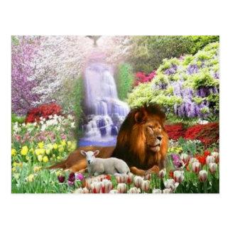 Cartão Postal Jardim bonito