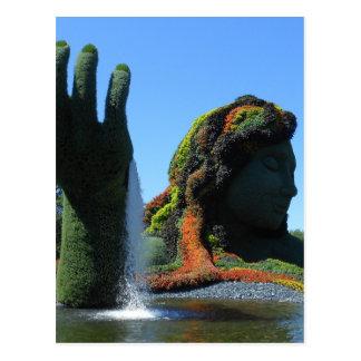 Cartão Postal Jardim botânico de Montreal