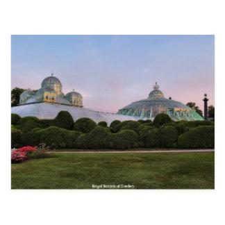 Cartão Postal Jardim botânico real