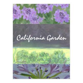 Cartão Postal Jardim de Califórnia