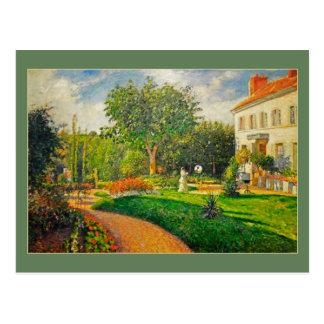Cartão Postal Jardim de Camilo Pissaro de Les Maturins