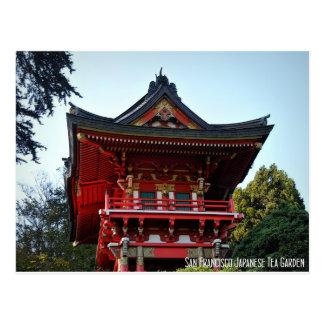 Cartão Postal Jardim de chá japonês de San Francisco