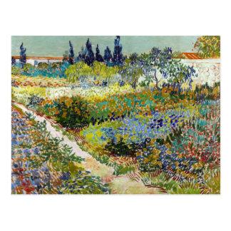 Cartão Postal Jardim de Vincent van Gogh em Arles