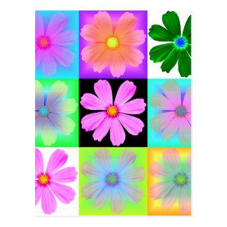 Cartão Postal Jardim Flower-9-postcard