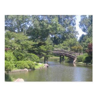 Cartão Postal Jardim japonês