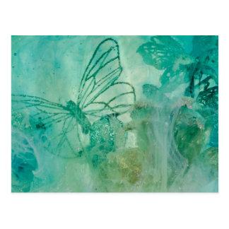 """Cartão Postal """"Jardim Mystical - original da coleção da"""