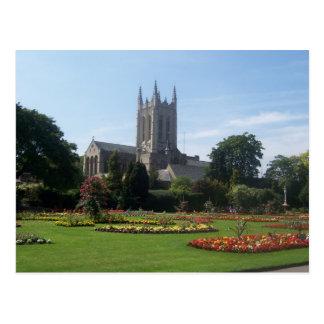 Cartão Postal Jardins da abadia, Suffolk, Inglaterra