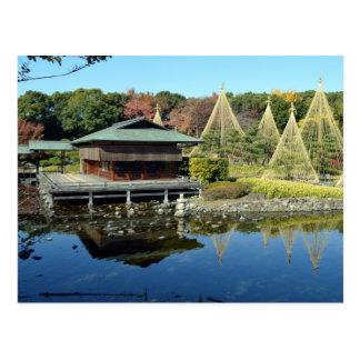 Cartão Postal Jardins de Shirotori de Nagoya, Japão