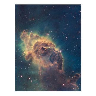 Cartão Postal Jato na nebulosa de Carina