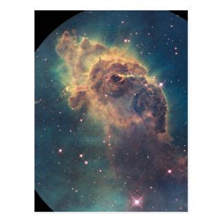 Cartão Postal Jato na nebulosa de Carina (NGC 3372)