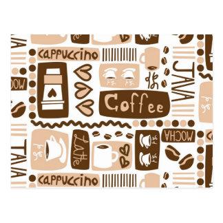 Cartão Postal Java Java Java!