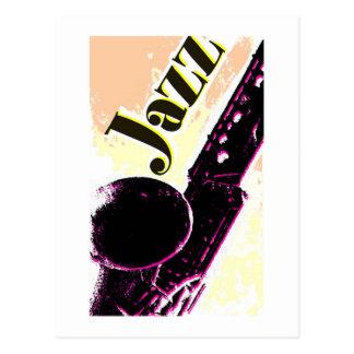 Cartão Postal Jazz14