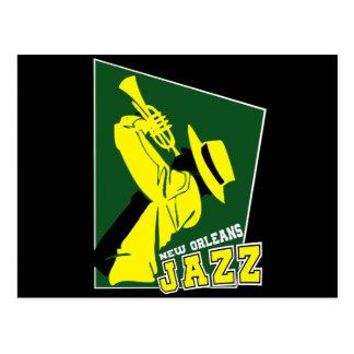 Cartão Postal jazz new orleans