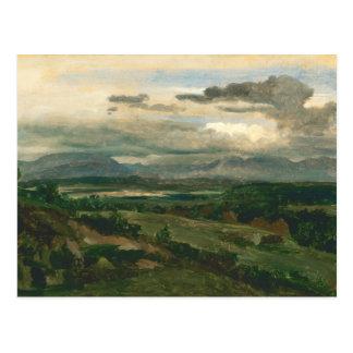 Cartão Postal Jean-Baptiste-Camilo Corot - Civita Castellana