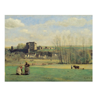 Cartão Postal Jean-Baptiste-Camilo Corot - paisagem