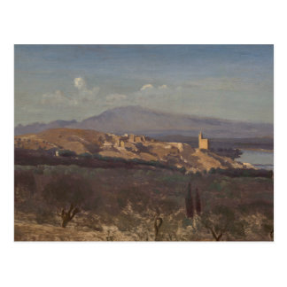 Cartão Postal Jean-Baptiste-Camilo Corot-Villeneuve-les-Avignon