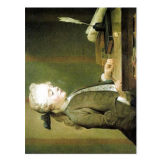 Cartão Postal Jean-Baptiste Sim? em Chardin Chardin,