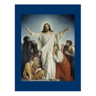 Cartão Postal Jesus consola a multidão