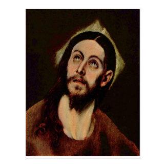 Cartão Postal Jesus Cristo cerca de 1580-1585