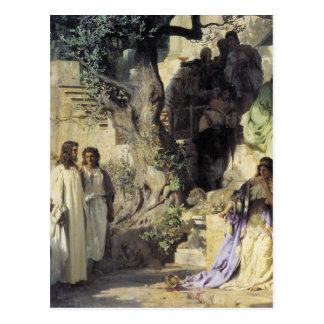 Cartão Postal Jesus e os pecadores