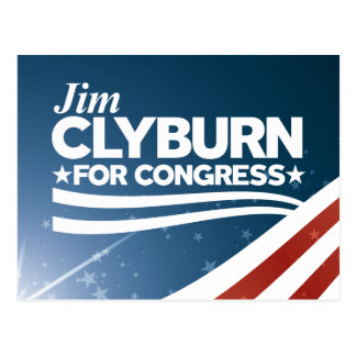 Cartão Postal Jim Clyburn
