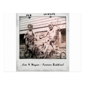 Cartão Postal Jim & Wayne