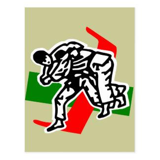 Cartão Postal jitsu do ju do judo