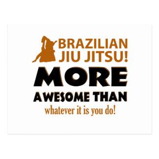 CARTÃO POSTAL JIU BRASILEIRO JITSU
