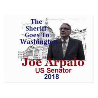 Cartão Postal Joe ARPAIO AZ 2018