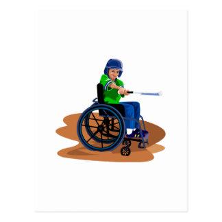 Cartão Postal Jogador de beisebol