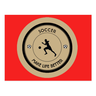 Cartão Postal Jogador de futebol