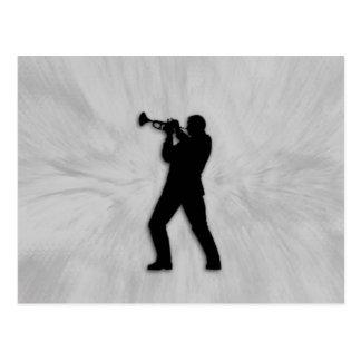 Cartão Postal Jogador de trombeta