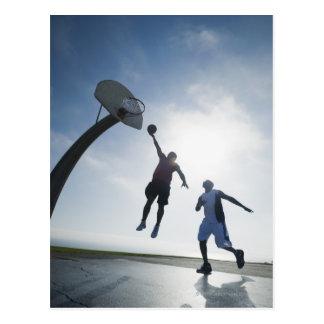 Cartão Postal Jogadores de basquetebol 5