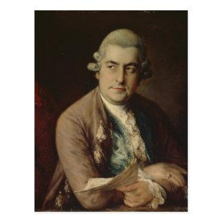 Cartão Postal Johann Christian Bach, 1776