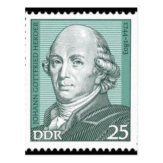 Cartão Postal Johann Gottfried Herder
