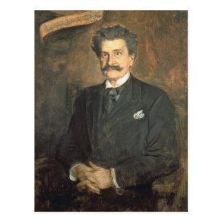 Cartão Postal Johann Strauss o mais novo, 1895