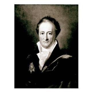 Cartão Postal Johann Wolfgang Goethe