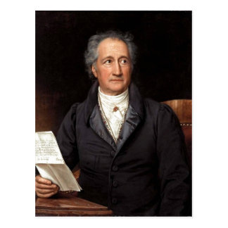 Cartão Postal Johann Wolfgang von Goethe im 70. Lebensjahr, gema