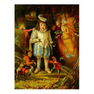 Cartão Postal John Anster Fitzgerald: Fairyland