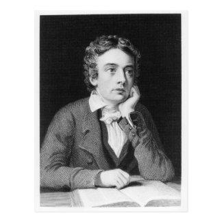 Cartão Postal John Keats