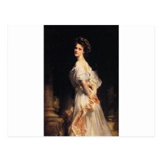 Cartão Postal John Singer Sargent - Nancy Astor - belas artes