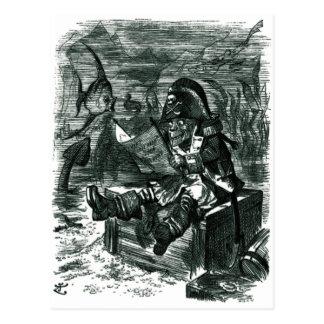 Cartão Postal John Tenniel: Cacifo de Davy Jones