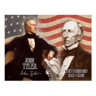 Cartão Postal John Tyler - 10o presidente dos E.U.