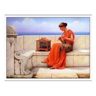 Cartão Postal John William Godward- uma canção sem palavras