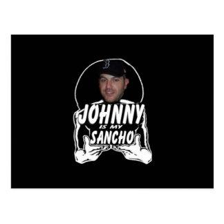 Cartão Postal Johnny o Sancho