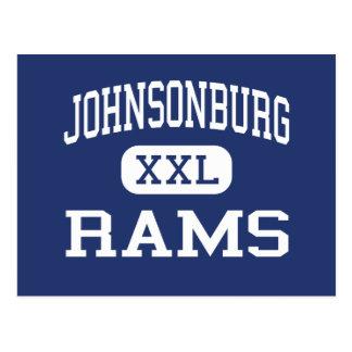Cartão Postal Johnsonburg - ram - área - Johnsonburg