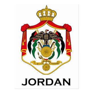 Cartão Postal JORDÃO - emblema/bandeira/brasão/símbolo