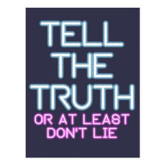 Cartão Postal Jordão Peterson: Diga a verdade…